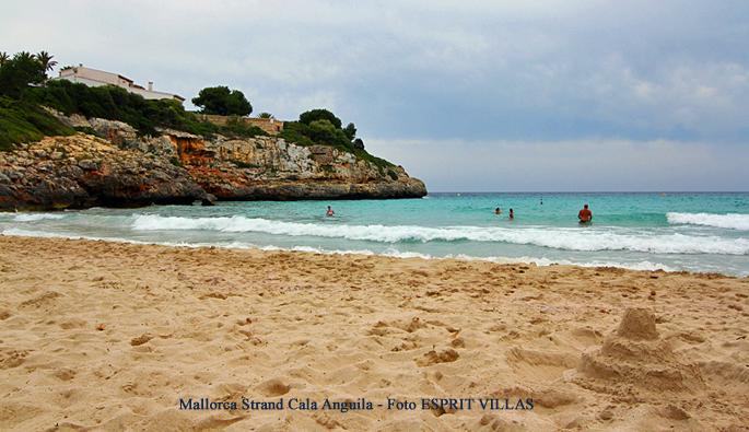 Mallorca Strand Cala Anguila