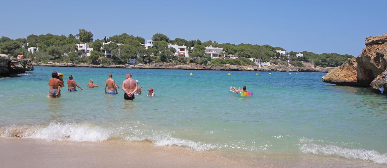 Es Forti Strand auf Mallorca
