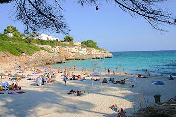 Strand von Anguila auf Mallorca