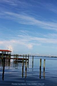 Florida Fort Myers Mit Sch Nen Str Nden Und Villen