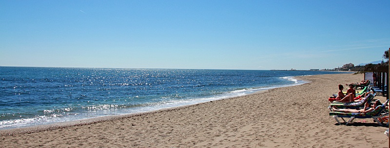 Strand an der Costa del Sol