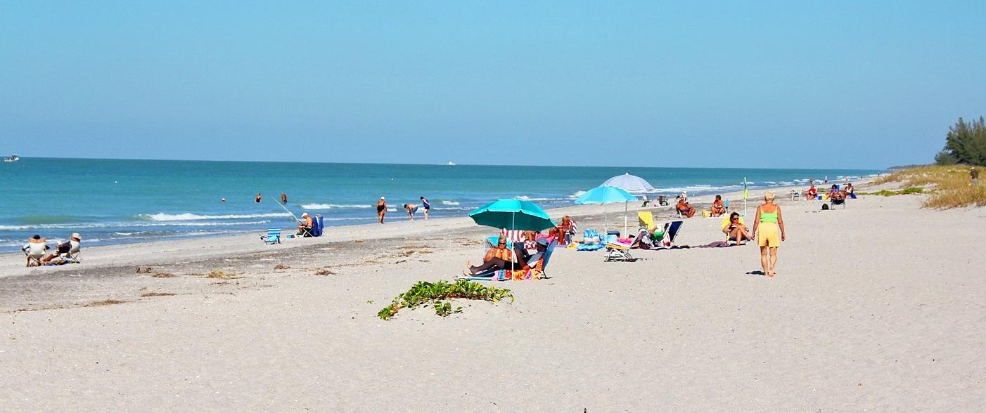 Strand von Manasota in Florida
