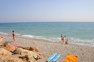 Strand Nerja an der Costa del Sol