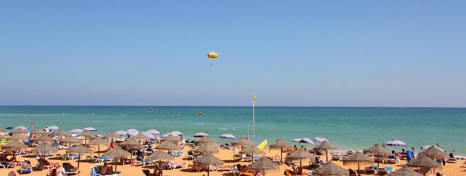 Strand bei Oura an der Algarve