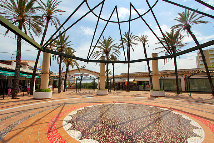 Marktplatz von Cales de Mallorca