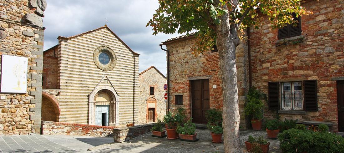 Lucignano in der Toskana