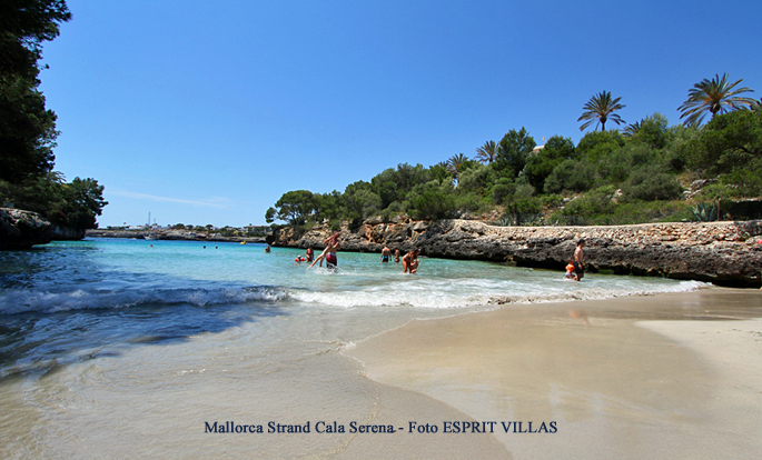 Cala Serena auf Mallorca