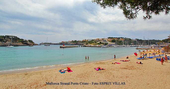 Strand von Porto Cristo auf Mallorca