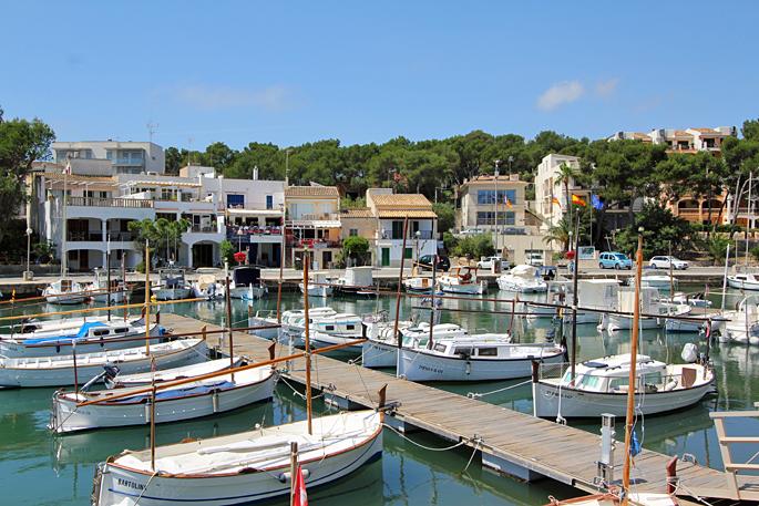 Porto Petro auf Mallorca mit Ferienhäusern mit Pool zu mieten