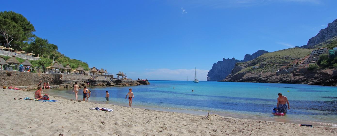 Mallorca Strand - Sandstrand Cala San Vicente