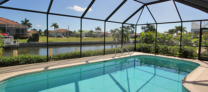 Ferienhaus in Marco Island mit Pool für 6 Personen