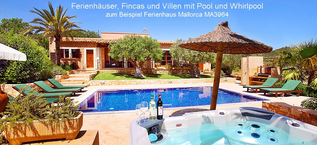 Ferienhaus Mallorca MA3964 mit Pool und Whirlppol