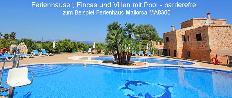 Ferienhaus Mallorca barrierefrei MA8300