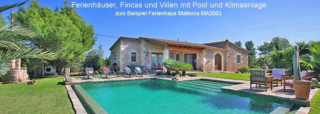 Ferienhaus Mallorca mit Klimaanlage MA2003