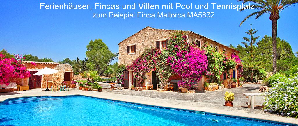 Finca Mallorca mit Tennisplatz MA5832