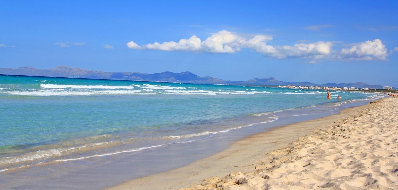 Mallorca Strand Playa de Muro