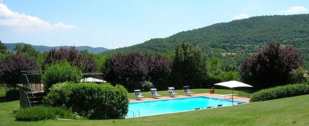 Ferienhaus Toskana mit Pool