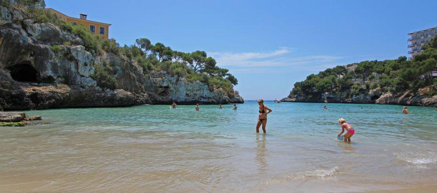 Mallorca Strand Cala Ferrera