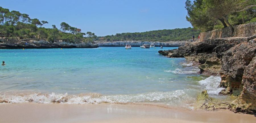 Mallorca Strand Cala Mondrago