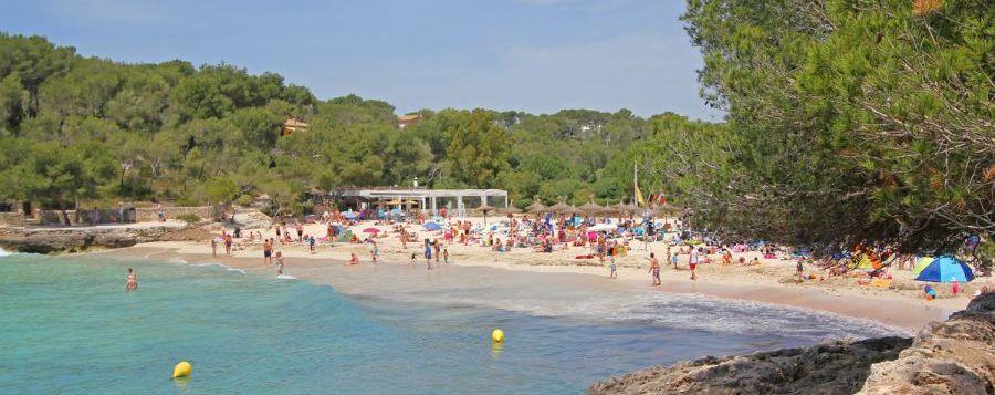 Cala Mondrago Strand auf Mallorca