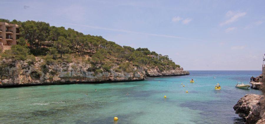 Mallorca Strand Cala Santanyi