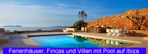 Ferienhäuser, Fincas und Villen auf Ibiza