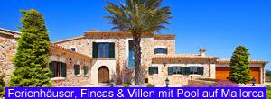 Ferienhäuser, Fincas und Villen auf Mallorca