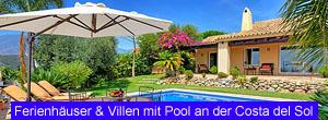 Ferienhäuser & Villen an der Costa del Sol