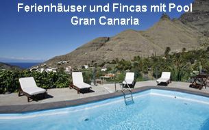 Ferienhäuser und Fincas mit Pool Gran Canaria