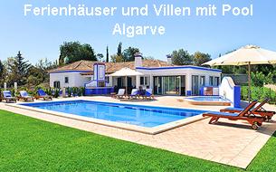 Ferienhäuser und Villen mit Pool Algarve