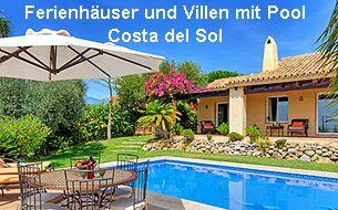 Ferienhäuser und Villen mit Pool Costa del Sol