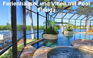 Ferienhäuser und Villen mit Pool Florida