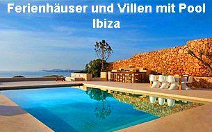 Ferienhäuser und Villen mit Pool Ibiza