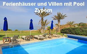 Ferienhäuser und Villen mit Pool Zypern