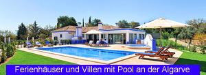 Ferienhäuser und Villen mit Pool an der Algarve