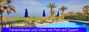 Ferienhäuser und Villen mit Pool auf Zypern