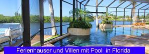 Ferienhäuser und Villen mit Pool in Florida