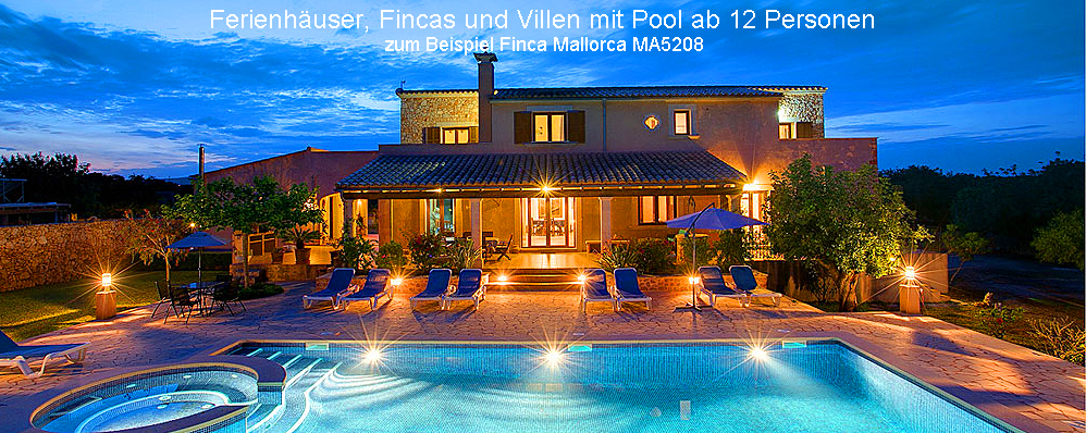 Ferienhaus Mallorca 12 Personen Bei Esprit Villas