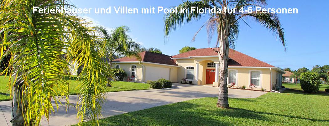 Ferienhäuser und Villen Florida 4-6 Personen