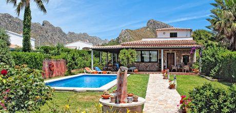 Mallorca Nordküste – Villa Puerto Pollensa 2030 mit Pool für 4 Personen mieten. Wechseltag Samstag.