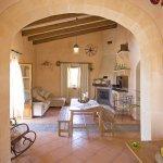 Ferienhaus Mallorca MA2097 Blick in den Wohnraum