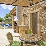 Ferienhaus Mallorca MA2097 Gartentisch mit Stühlen