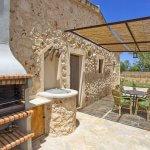Ferienhaus Mallorca MA2097 gemauerter Grill
