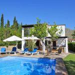 Ferienhaus Mallorca MA2160 Gartenmöbel am Pool