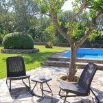 Ferienhaus Mallorca MA2160 Terrasse mit Gartenmöbel (2)