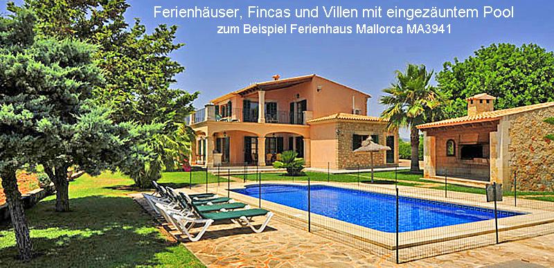 Ferienhaus Mallorca mit eingezäuntem Pool MA3941