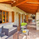 Finca Mallorca 2040 überdachte Terrasse