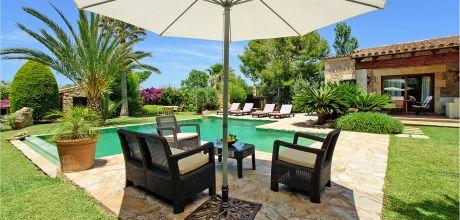 Mallorca Nordküste – Komfort-Finca Pollensa 2003 mit Pool und Flair in gepflegtem Garten, Grundstück 1.800qm, Wohnfläche 120qm . An- und Abreisetag nur Samstag!