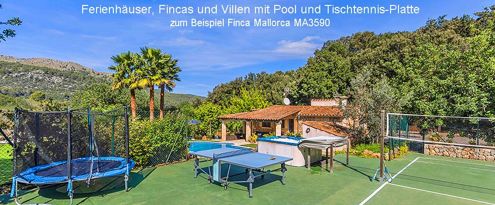 Finca Mallorca mit Tischtennis MA3590