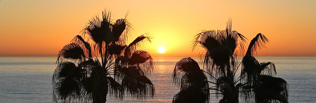 Sonnenaufgang Costa del Sol
